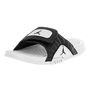Nike Jordan Kids Jordan Hydro XII Retro Bg Black/Black/Pure Platinum Sandal 6 Kids US