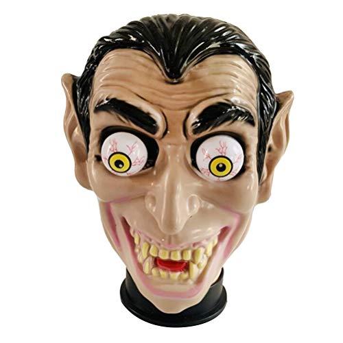 Amosfun Halloween Big Ear Kopf Maske Frühling Augenmaske Halloween Cosplay Dress Up Zubehör Fancy Party Maske für Männer und Frauen (Big Ear Typ) (Up Halloween Beängstigend Dress Games)