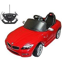 Mini Coche Eléctrico Bateria 6V para Niños 3 años BMW con MP3 CLaxon Faros Llaves y Control Remoto para Padres