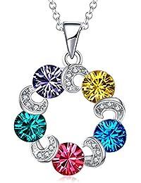 396957be8389 TOJEAN  Cristal de Amor  Joyería Collar con Elementos de Swarovski Cristal