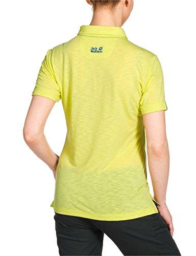 Jack Wolfskin Damen Shirt Travel Polo Women Lemonade