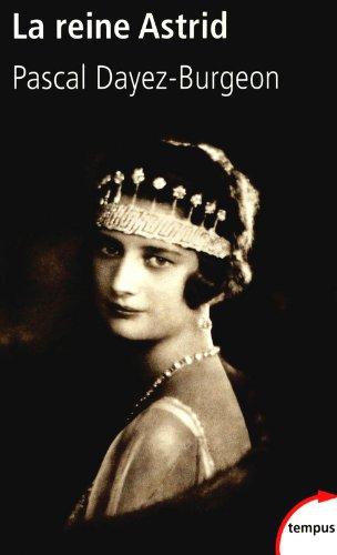 La reine Astrid par Pascal DAYEZ-BURGEON