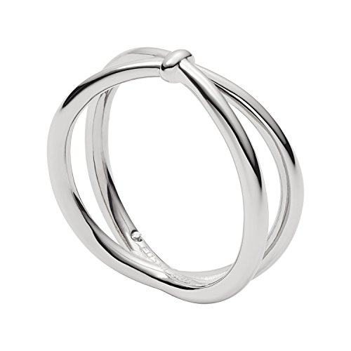 Fossil Damen Ringe Edelstahl Ringgröße 51 (16.2) JF02867040-5.5