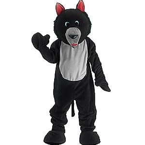 Carnival Toys 25903 - Wolf, el señor del traje, la cabeza y los pies por separado, Universal L-XXL