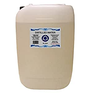 Distilled Water - 20 Litre (20L) - Pure Steam Distilled - 0ppm