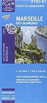 Marseille - les calanques par Institut géographique national