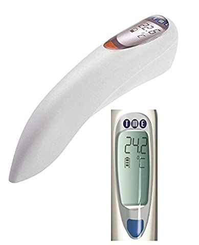 TME SOLO-T Digital Chef Thermometer with Socket, Professional Range, White