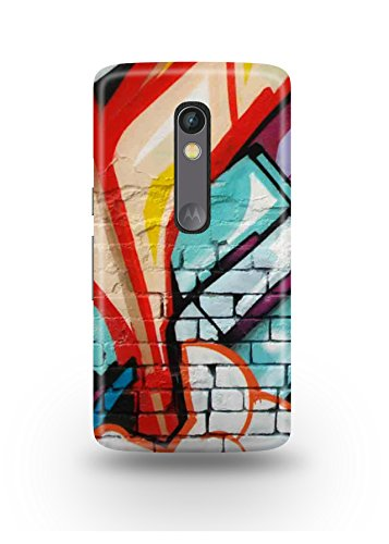 Moto X Play Cover,Moto X Play Case,Moto X Play Back Cover,Colorful Graffiti Moto X Play Mobile Cover By The Shopmetro-12426