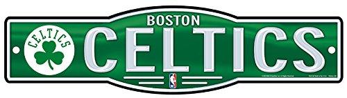 Wincraft Snack-Schale NBA Boston Celtics 10,2x 43,2cm Zoll Kunststoff Straßenschild