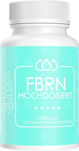 3 Drops FBRN 120 Kapseln, Schnell, Erfolgreich, Leicht, Extrem, Hochdosiert + Appetit