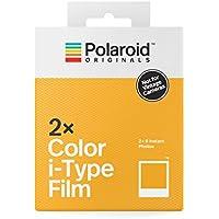 Polaroid Originals 4836 - Película i-Type Color (Paquete Doble) Marco Blanco