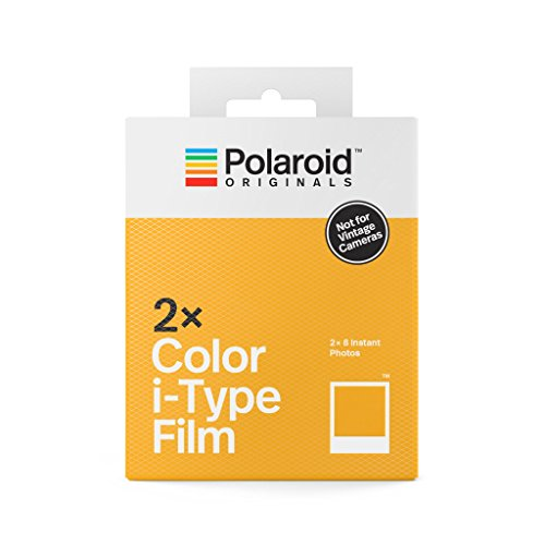 Polaroid Originals 4836 - Película i-Type Color Paquete