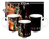 MasTazas Allied Brad Pitt Marion Cotillard Tasse Mug