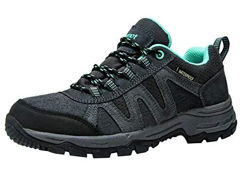 Riemot Zapatillas Trekking para Mujer, Zapatos de Senderismo Calzado de Montaña Escalada Aire Libre...
