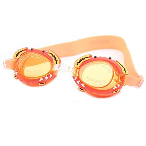MRFENG Schwimmbrillen für Erwachsene Kinder,Verstellbare Träger, Silikon-Augendichtung, UV-Schutz und Antibeschlag-SchwimmbrilleSchwimmbrille