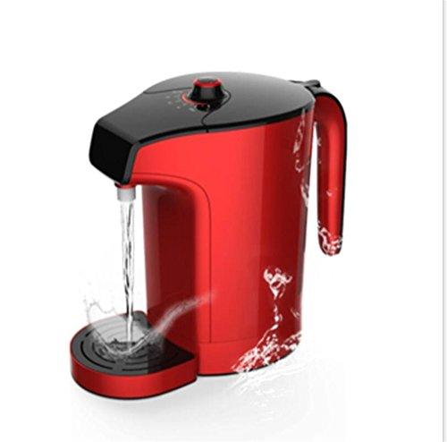 FFJTS Máquina rica en hidrógeno, es decir, calentador de agua vertical con dispensador de agua caliente (rojo): más de 2 litros