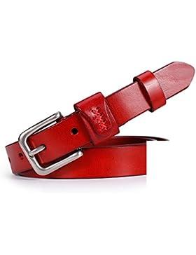 Cinturón Multiuso Simple/Cinturón Vintage Arte-rojo 95cm(37inch)