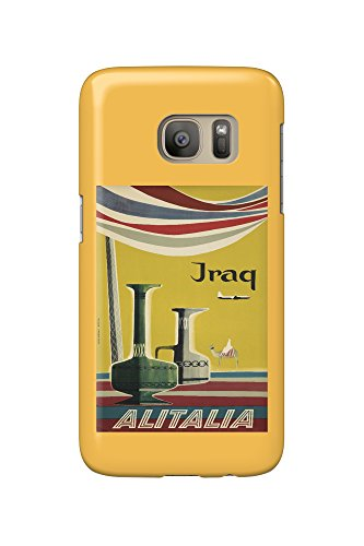 alitalia-iraq-vintage-poster-artist-molinari-italy-c-1955-galaxy-s7-cell-phone-case-slim-barely-ther
