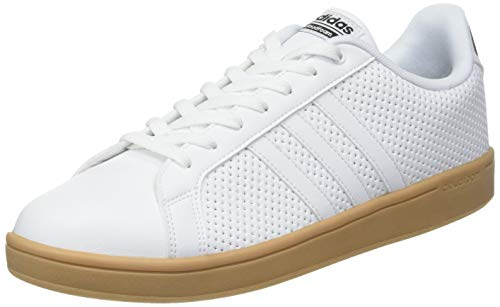 adidas Cloudfoam Advantage Scarpe da Tennis Uomo, Bianco (Ftwr White//Core Black) 41 1/3 EU