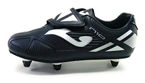 Joma N10 jr Velcro Botas Fútbol para césped Natural o Rugby d69d15cce70ec