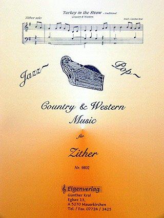 JAZZ POP COUNTRY & WESTERN 1 - arrangiert für Zither [Noten / Sheetmusic]