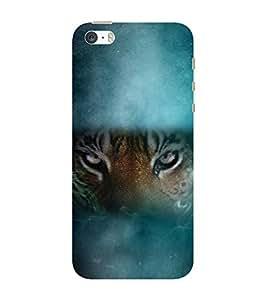 Babula Designer Back Case Cover for Apple iPhone SE (ANIMAL TIGER JUNGLE DANGER PREDATOR)