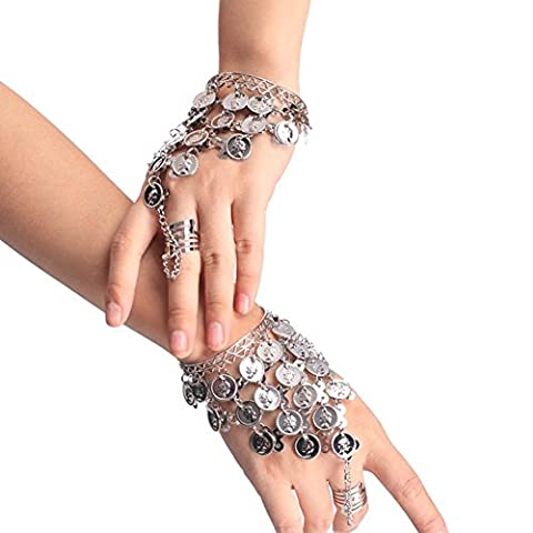 Costumes Gypsy Girl - Lucky Will Bracelet Porte-Bonheur de Belly Dance