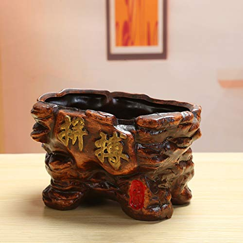 ro-Kampf-Terrakotta-Blumen-Topf-Grünbetriebs-kleine eingemachte Blumen-Bonsais-Blumen-Tischplattendekoration ()