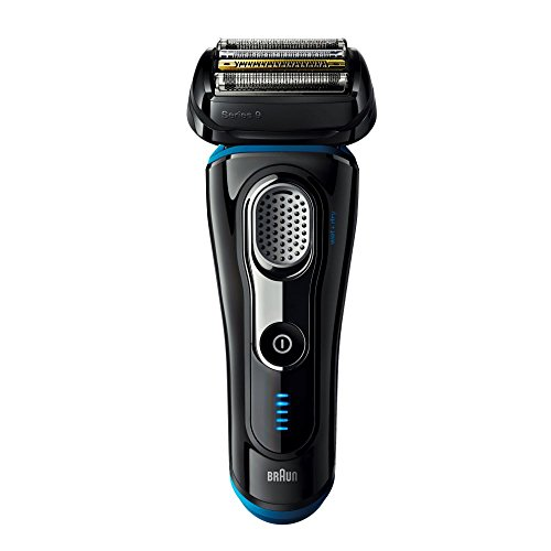 Braun Series 9 9240s Men's Electric Foil Shaver, Wet and Dry, Rechargeable and Cordless Razor with Pop Up Trimmer – Black