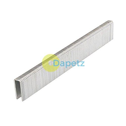 Daptez® 5000pki type 90Agrafes ongles Air–5,85X 16X 1,25mm Compatible avec les agrafeuses Calibre 18