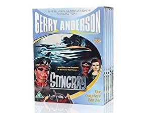 THE COMPLETE SERIES OF STINGRAY : 5 DVD BOX SET