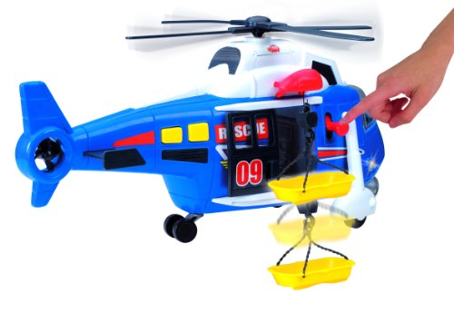 Dickie Toys 203308356 - Action Series Helicopter, Helikopter, 41 cm - 8