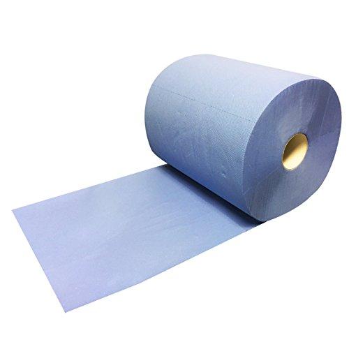 2 Putzrollen blau 2-lagig 36x22cm =1000 Blatt Putzrolle Putztuch Werkstatt TOP