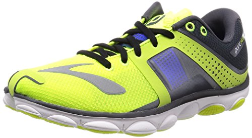 Brooks PureFlow 4 D Nightlife Anthracite Electric Blue 42