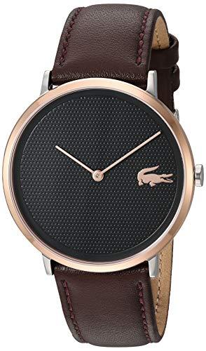 Lacoste Reloj Analógico para Hombre de Cuarzo con Correa en Cuero 2010952