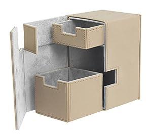 Ultimate Guard FlipŽnŽTray Deck Case 100+ Caja de Cartas Tamaño Estándar XenoSkin Beige