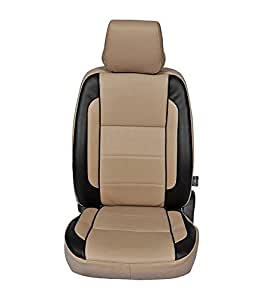 Autofurnish CZ-123 Beige Leatherite Car Seat Covers for TATA Zest