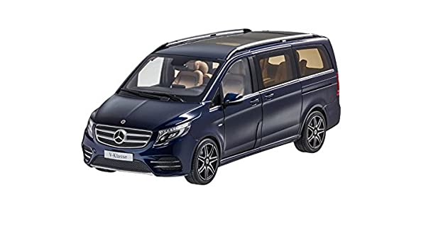 Original Mercedes-Benz v-Classe cavansitblau AMG-Line 1:18