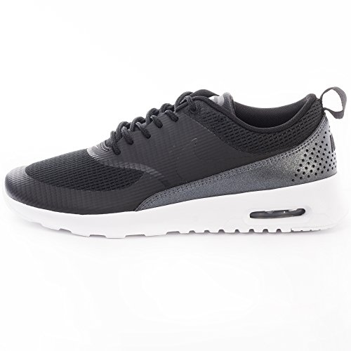 Nike Nike Air Max Thea Textile Women's Shoe, Damen Sneakers Schwarz (Black/Black)