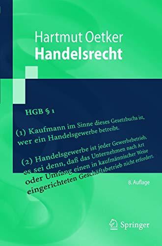 Handelsrecht (Springer-Lehrbuch)
