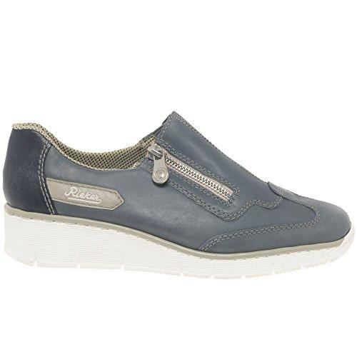 Rieker Woman Eagle Sneaker Azur blue