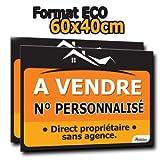 immo-panneaux.com Panneau A Vendre - Format ECO 60 x 40 cm...