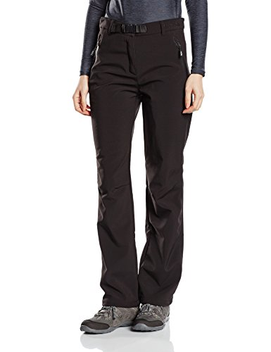 Softshell-Hose Outdoor-Hosen für Damen von Fifty Five - Orac black42 - winddichte wasserf