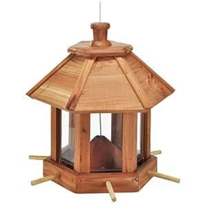 vogelfutterhaus vogelfutterstation 26x26x27cm aus holz. Black Bedroom Furniture Sets. Home Design Ideas