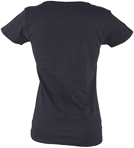 Küstenluder Retro FRANKENSTEIN`s BRIDE Shirt - Schwarz Rockabilly Schwarz mit buntem Print