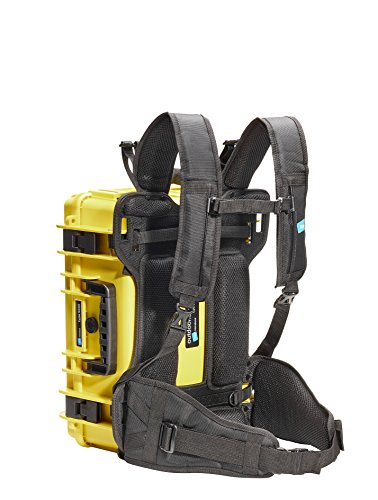 B&W Outdoor.cases Rucksacktragegestell für Outdoor Koffer Typ 5000, 5500 und 6000 - Das Original