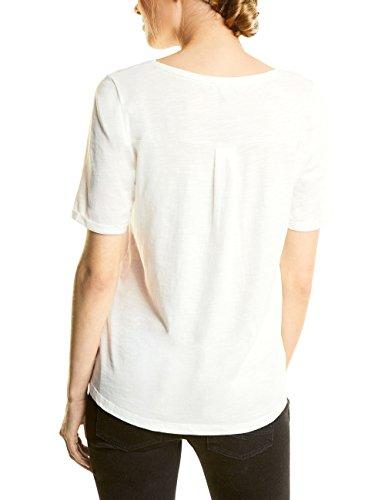 Street One Damen T-Shirt Weiß (Off White 30108)