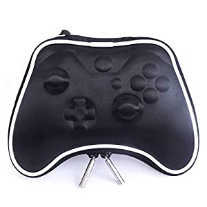 Pandaren airform Tragetasche Schutzhüllen Beutel harter Fall für Xbox One controller (schwarz)