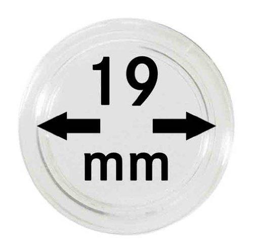 Lindner 2250019P Münzenkapseln-10er Pack