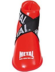 Metal Boxe Protège-pieds Rouge Taille L